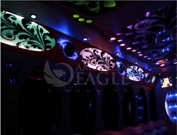 Washington DC Party Bus Rental - Interior