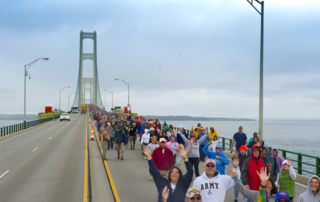 Mackinac Bridge Walk